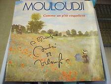 MOULOUDJI Comme un p'tit coquelicot- LP Dédicacé