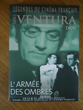 * L'ARMEE DES OMBRES * COLLECTION 4 Lino VENTURA MELVILLE SIGNORET LEGENDES DVD