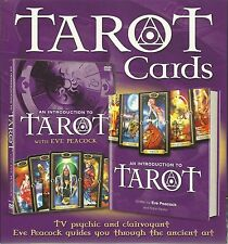 TAROT DVD & BOOK GIFT SET -TV PSYCHIC & CLAIRVOYANT EVE PEACOCK GUIDES YOU