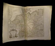 [GEOGRAPHIE MAP DEUTSCHLAND GERMANY] L'ISLE / DELISLE - Carte de l'Allemagne.
