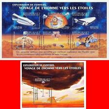 MADAGASCAR 2000 VOYAGE to SPACE/MARS CONQUEST S/S + M/S MNH ** ASTRONOMY
