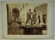 GIORGIO SOMMER 1834 - 1914 MUSEO DI NAPOLI SALA DEL MARMI - OLD VINTAGE PHOTO