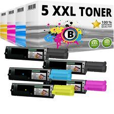5x XXL Toner Patronen kompatibel Epson Aculaser C1100N CX11N CX11NF CX11NFC SET