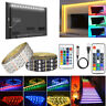 0.5-5M 5V 5050 60SMD/M RGB LED Strip Light Bar TV Back Lighting Kit+USB Remote