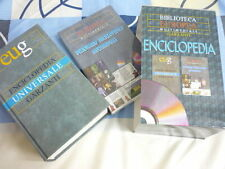 ENCICLOPEDIA BIBLIOTECA EUROPEA ECICLOPEDIA UNIVERSALE+CD ROM GARZANTI
