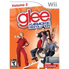 Karaoke Revolution: Glee - Vol. 3 (Nintendo Wii, 2011) LN WITH Manual & LOW SHIP