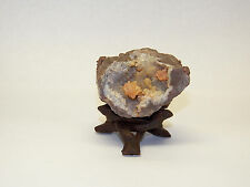 """1 Small 2"""" DISPLAY STAND STANDS Carved Wood 3-legs Mineral Fossil Specimen"""