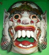 Mask Bali  Raksaksa Gargoyle Demon  Hand carved Extra LARGE 20 x 15 inch Wood