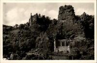Idar Oberstein AK ~1950/60 Felsenkirche mit alter und neuer Burgruine ungelaufen