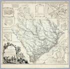 1773 SC MAP Allison Alexander Baxter Barage Barfield Bever Family SURNAMES ! BIG