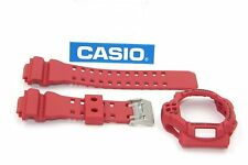 CASIO GDF-100-4 G-Shock Original New Red BAND & BEZEL Combo GDF-100 GDF100