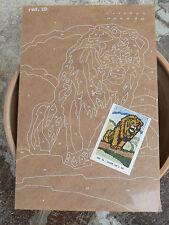 NUOVO Tavola Tavoletta legno compensato prestampata hobby mod leone