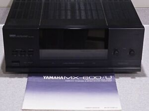 "Yamaha MX-600u Natural Sound Stereo Power Amplifier ""Wow!!! L@@K!!!"" Awesome!!!"