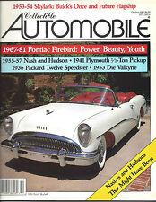 Collectible Automobile Magazine October 1989 Vol 6 - No 3