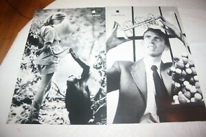6 APPLE EDUCATOR SERIES 11X17 THINK DIFFERENT POSTERS NEW OLD STOCK BEAUTIES