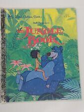 The Jungle Book A Little Golden Book 1967 Walt Disney Presents