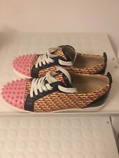 Christian Louboutin Zapatos Tenis EU 41/UK 7.5/8 Junior Pico Plano Ltd Edition