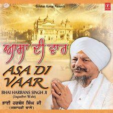 BHAI HARBANS SINGH JI - ASA DI VAAR - NEW PUNJABI SONGS CD - FREE UK POST