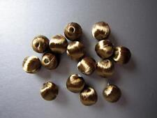 Déco Accessoire Perles PASSEMENTERIE, PAR 20,  diam 15 mm, or bronze, PA7