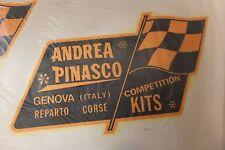 Vespa Lambretta Pinasco Waterslide NOS Mega Rare