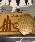 Disney Gold Batuu Spira Black Spire Coin Metal Star Wars Galaxy?s Edge ZERO VALU