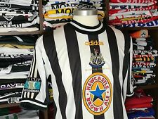 NEWCASTLE UTD home 1997/1998 shirt - SHEARER #9 -Blackburn-England-Adidas-Jersey