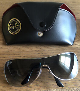 Ray-Ban RB3211 Unisex 003/8G Sunglasses Gunmetal w/ Gradient Lens And Case
