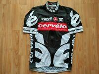 Cervélo Test Team Short Sleeve Full Zipp Cycling Jersey 2009 Castelli Size:M NEW