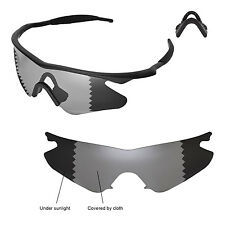New Walleva Polarized Transition/Photochromic Lenses For Oakley M Frame Heater