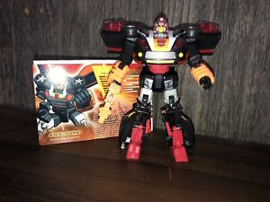 Transformers Botcon 2012 Exclusive Shattered Glass Kick Off Kickover LOOSE