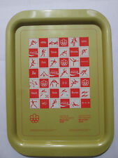 1976 Montreal Olympics 1976 metal Tray by Coca-Cola Français/English #2