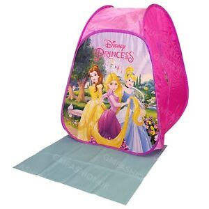 Disney Princess Childrens Pop Up Folding Play Tent Indoor Outdoor Play House