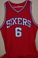 Philadelphua 76ers Sixers Dr J Erving Jersey XXL