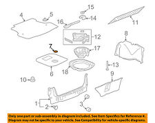 GM OEM Interior-Rear-Spare Cover Retainer 14103857