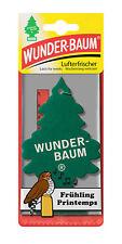 10 Stück WUNDERBAUM Duftbäumchen Frühling / spring Lufterfrischer air freshener