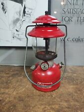 Coleman 1966 Lantern Red 200A with Globe Camping Dated 5/66 Camping Hunting