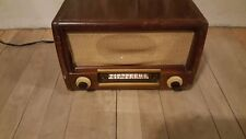 Westinghouse Early 1900s Vintage Wooden Tube 1947-1948 Radio