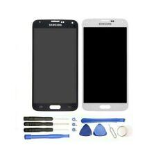 Pantalla Compatible Samsung Galaxy S5 G900F i9600 Cristal Táctil Lcd Blanca Negr