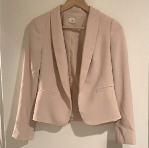 Ann Taylor Loft Petite Blazer Pink 00P