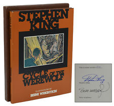 Cycle of the Werewolf ~ STEPHEN KING ~ Signed Limited First Edition 1st 1983