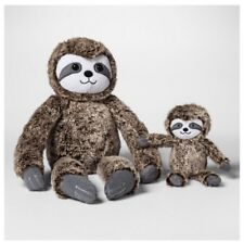 Plush Baby Toy with Rattle Sloth Cloud Island Brown New Unisex Novelty Baby Gift