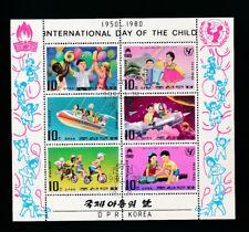 Korea, Block International Day of Child 1980, (MO2)