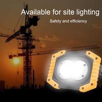 Lampe de travail à LED pour projecteur de travail rechargeable étanche à l'eau