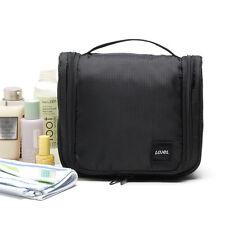 Mens Waterproof Black Travel Toiletry Bag Organizer Kit  #37