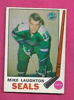 1969-70 OPC #  148 SEALS MIKE LAUGHTON ROOKIE EX-MT  CARD (INV# C7469)