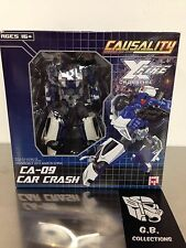 Transformers Fansproject Causality Crossfire Car Crash CA-09 100% Complete
