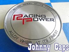 RACING POWER Wheels [71] CHROME Center Caps # C-208 Custom Wheel Center Cap (1)