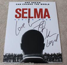 JOHN LEGEND & COMMON SIGNED 'SELMA' 11X14 MOVIE POSTER PHOTO w/COA GLORY!