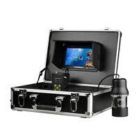 "Fish Finder Underwater Fishing 360° Camera 7"" Color HD Monitor 800TVL 20/50/100m"
