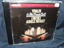 Vivaldi - Flötenkonzerte -I Musici / Aurele Nicolet